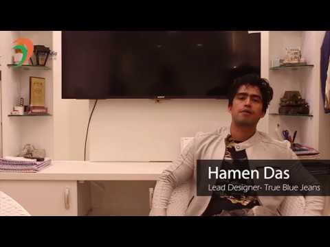 Hamen Das, Fashion Designer (True Blue) at Career Fest'18