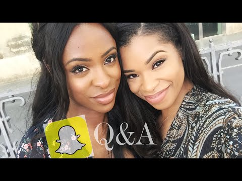 SNAPCHAT Q&A | CELIBACY, MENTAL HEALTH, MONEY ISSUES & SISTERHOOD