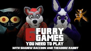 Six Furry Video Games You Should Be Playing