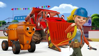 Bob the Builder US 🛠⭐ Machines on Ice! 🛠⭐New Episodes | Cartoons for Kids