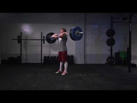 CrossFit - Oly Analysis: Chad Vaughn Clean and Jerk Image 1