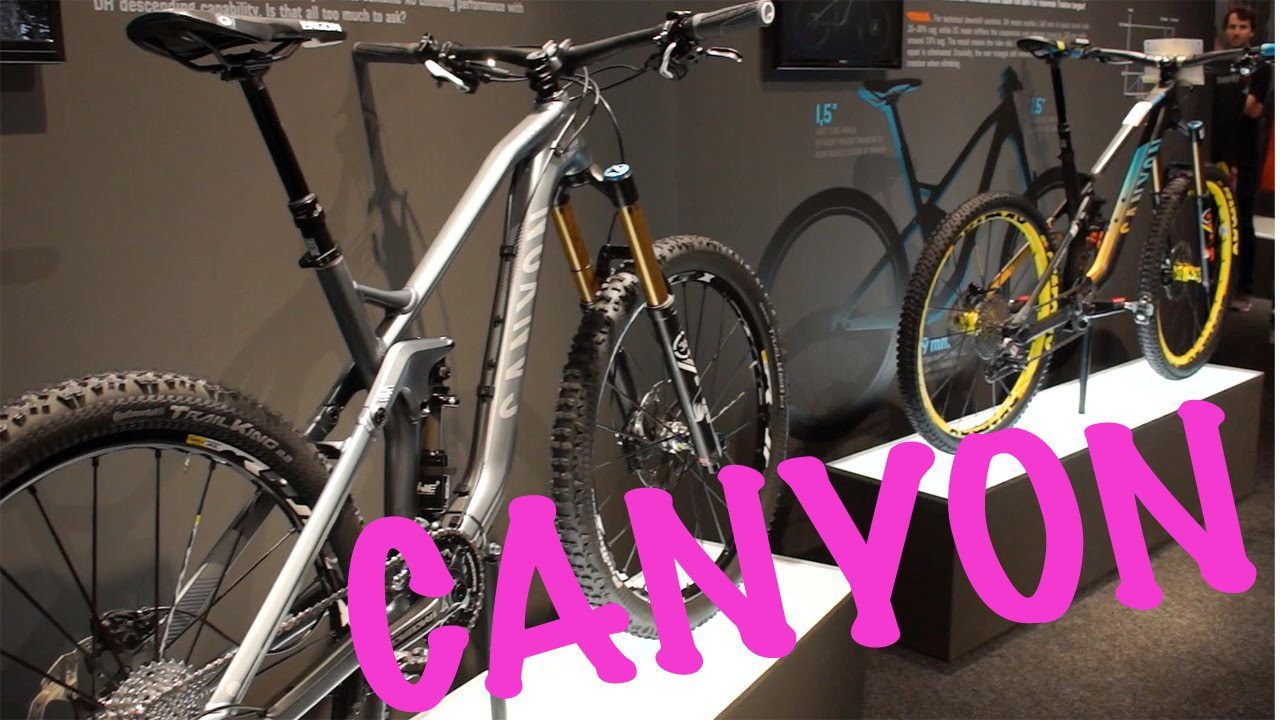 Canyon Mountain Bikes 2015 New CANYON Bikes Strive