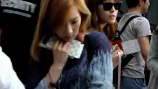 [Fancam] 120610  SNSD airport 桃園機場