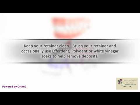Retainer Care - Wellington Village Orthodontics