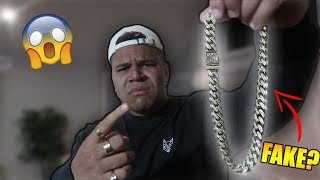 HE SOLD ME A FAKE $30,000 CHAIN *EXPOSED*