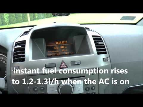 How to activate/deactivate Climate Control/ Air Condtioning - Opel, Vauxhall Zafira, Astra