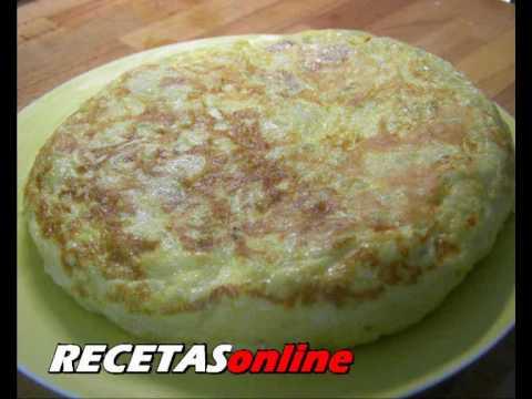 Tortilla de patatas - Recetas de cocina RECETASonline