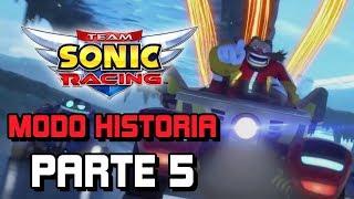 Team Sonic Racing - Modo Historia - Parte 5 Español HD - El verdadero Team Eggman