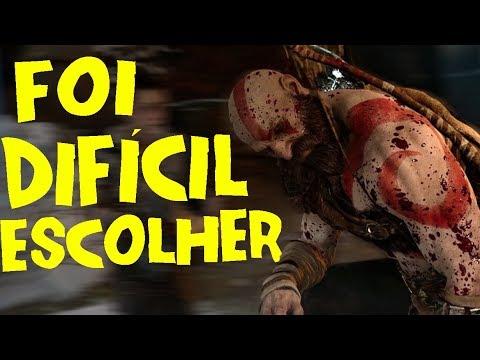 God of War PS4 2018 - FOI DIFÍCIL CRIAR O CONCEITO DO JOGO ! thumbnail