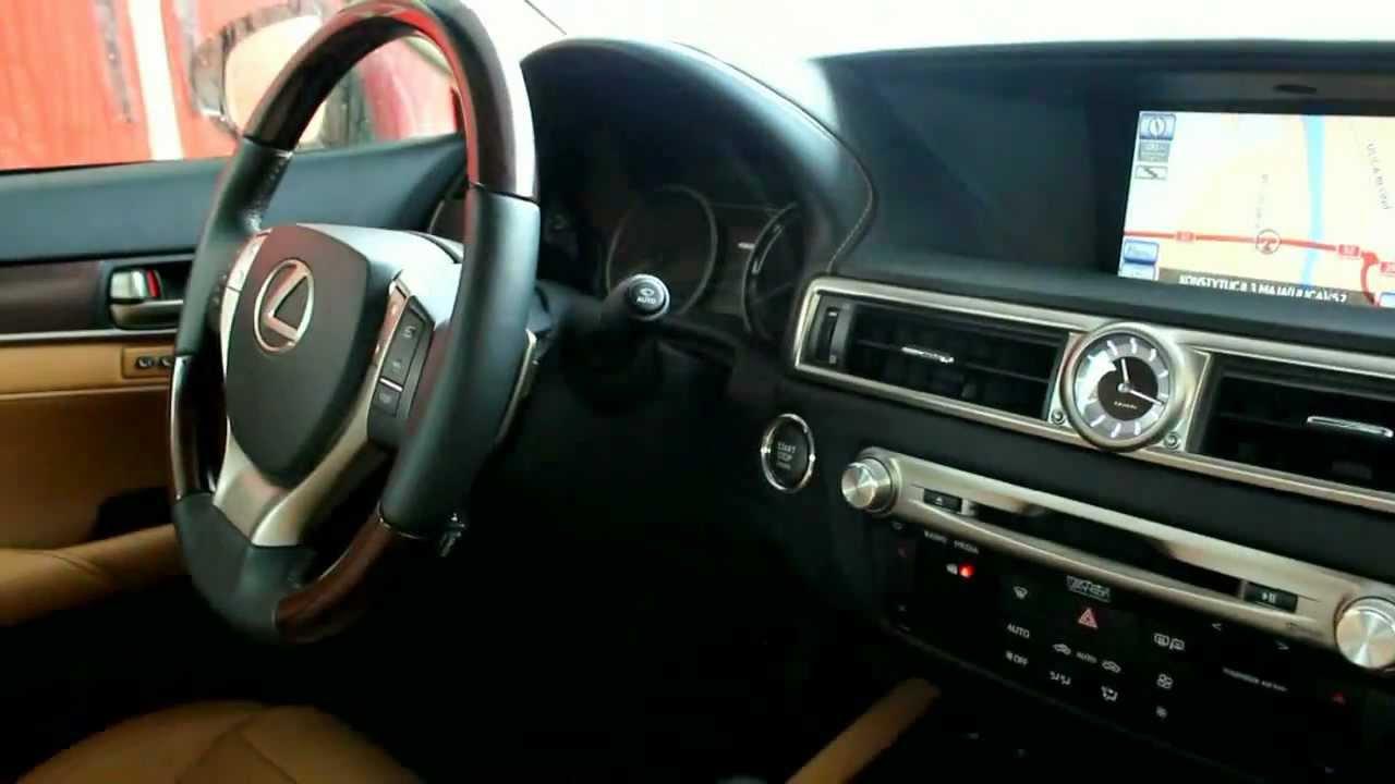 2012 Lexus Gs 250 350 Mark Levinson Audio System Youtube
