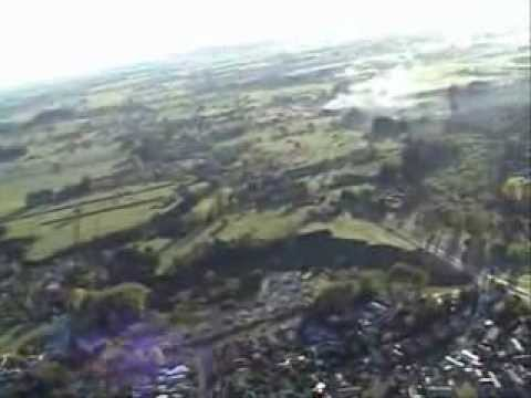 High Quality Sun Rise Hot Air Balloon Ride over Hamilton Video
