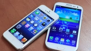 iPhone 5 (Siri) vs Galaxy S III (S Voice)
