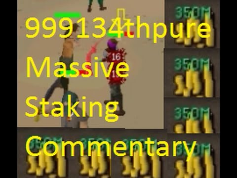 [26/4/13]Epic Old School Runescape Stakes, 1 Pray Staking, 999134thpure OSRS Video 10