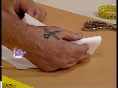 Hermenegildo Zampa - Bienvenidas TV - Explica el Cuello Esmoquin.