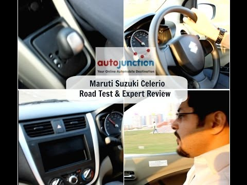 Maruti Suzuki Celerio - Road Test & Expert Review