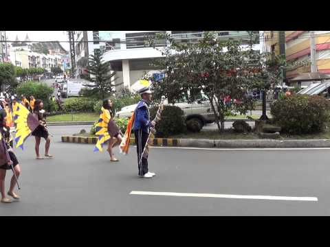 Baguio Day Parade - Baguio City, Philippines - Saint Louis University Marching Band