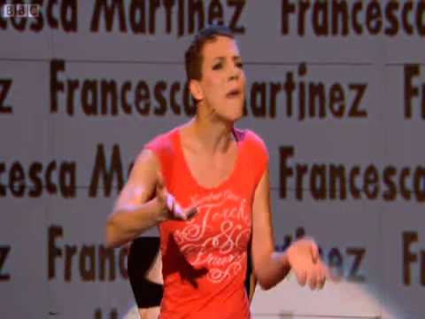 Francesca Martinez on Russell Howard