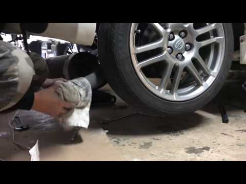 TRD Exhaust Install on Scion tC 2006