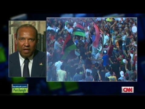 Libyan royal prince reacts