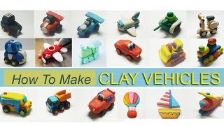 HOW TO MAKE CLAY VEHICLE