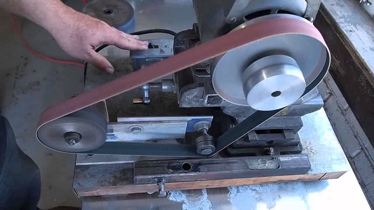 How to build a belt grinder for knife making