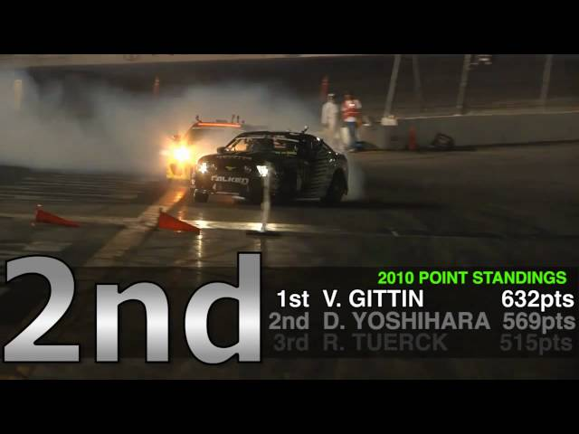 2010 Formula Drift Champion Vaughn Gittin Jr.