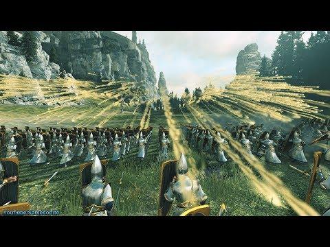 120 Bolt Throwers vs 4800 Spearmen Total War Warhammer 2