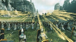 120 Bolt Throwers vs 4800 Spearmen Total War Warhammer 2