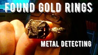Found Gold & Silver Rings Metal Detecting !