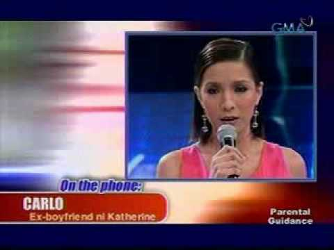 Showbiz Central Katherine Luna being blackmailed by ex boyfriend