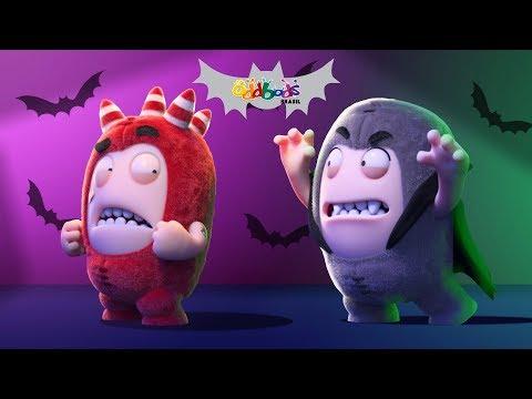Aventura Assustadora | Desenhos Animados de Halloween | Oddbods