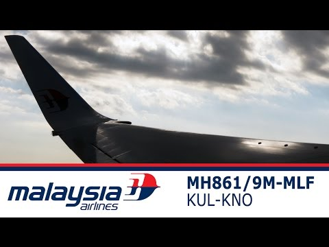 Short Video Trip Report Malaysia Airlins MH860 KNO (Medan) to KUL (Kuala Lumpur)