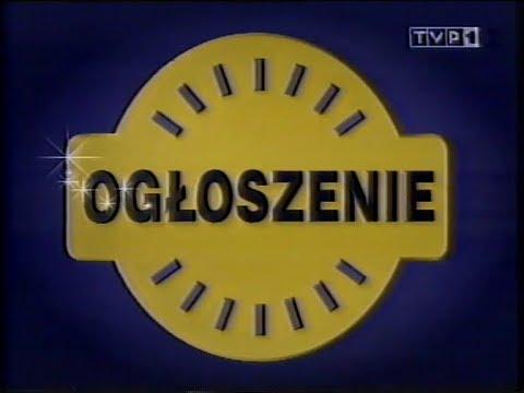 Jedynka Zlepek Informacji, Reklamy, Ogłoszenie Lotto, Program Dnia | VHS RECORDS