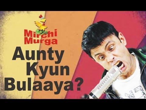 Rj Naved In 'murga And Aunty Kyun Bulaaya?' video