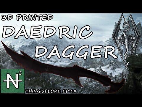 Thingisplore S:2 Ep:5- Skyrim's Daedric Dagger