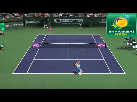 Tennis Elbow 2014 Indian Wells 2015 - Ana Ivanovic vs Serena Williams GAMEPLAY