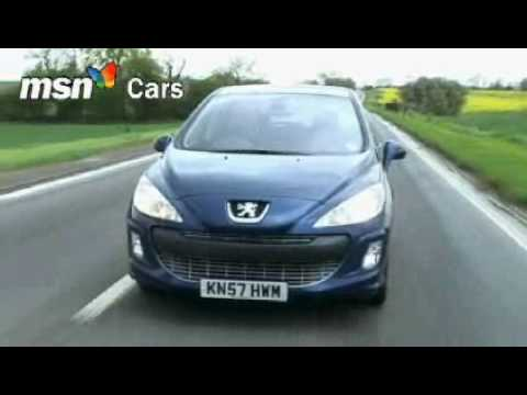 Peugeot 308 MSN Cars test drive