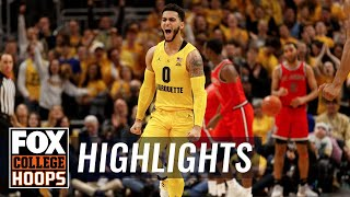 Markus Howard passes Christian Laettner on all-time scoring list | FOX COLLEGE HOOPS HIGHLIGHTS