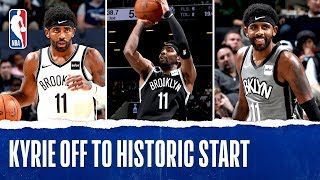 Kyrie Off To Historic Start