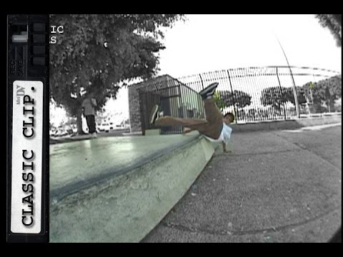Skaters Slips Out Classic Skateboard Slam #155