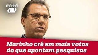 Luiz Marinho vota no ABC e crê em mais intenções de voto do que apontam pesquisas