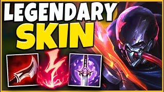 *WTF RIOT* THIS SKIN IS 100% NOT FAIR (PROJECT PYKE PENTAKILL) - League of Legends