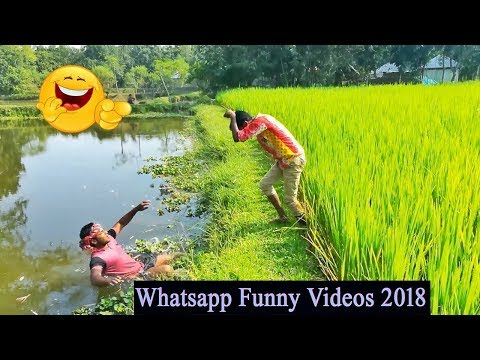 Whatsapp Funny Videos 2018_Funny Village Boys_Try Not To Laughing_Paglu Funny