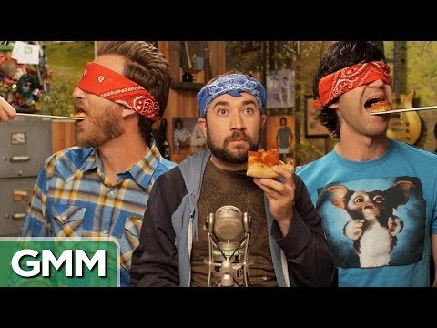 Blindfolded Pizza Challenge
