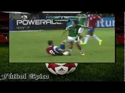 Costa Rica Vs. México || Eliminatorias Brasil 2014 15/Octubre/2013 [Partido Completo]