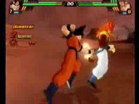 Dragon Ball Z Budokai Tenkaichi 3 - Goku VS SSJ4 Gogeta