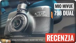 Mio MiVue 798 Dual TEST wideorejestratora samochodowego z GPS i kamerą tylną A30 | ForumWiedzy