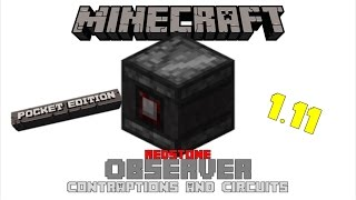 Redstone with the Observer | Minecraft PC/PE Showcase