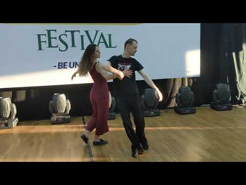 WZF2019: Anna & Marti in Friday class demo ~ Zouk Soul
