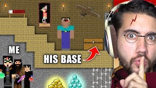 How Long Can I Hide Under Someones Staircase Before They Notice? | Minecraft Home Invasion E6